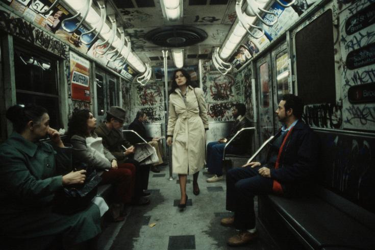 Un vagón de subte en NYC a principios de los años 80