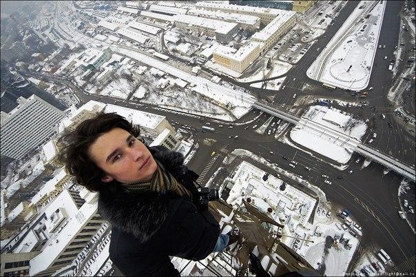 Kirill Oreshkin desde lo alto