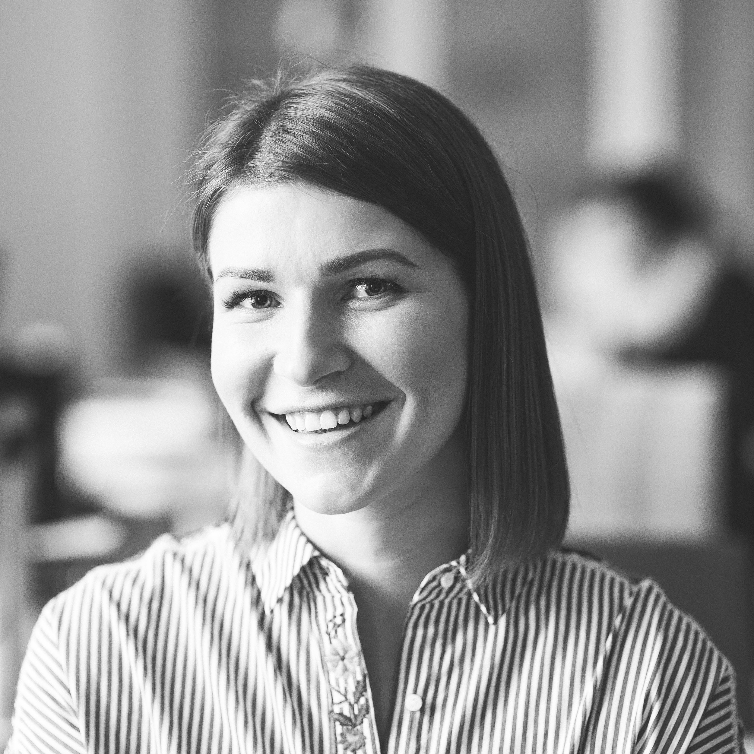 Kerttu-Liisa Kopliste    Communications Assistant