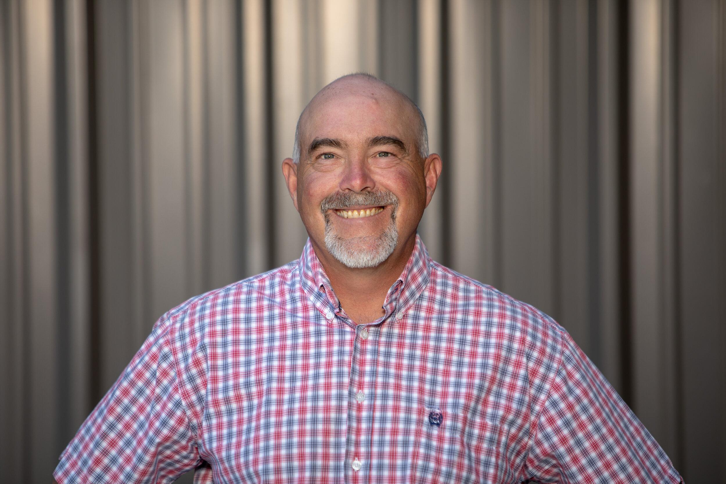 Andrew Edmiston, Superintendent, Alpine -