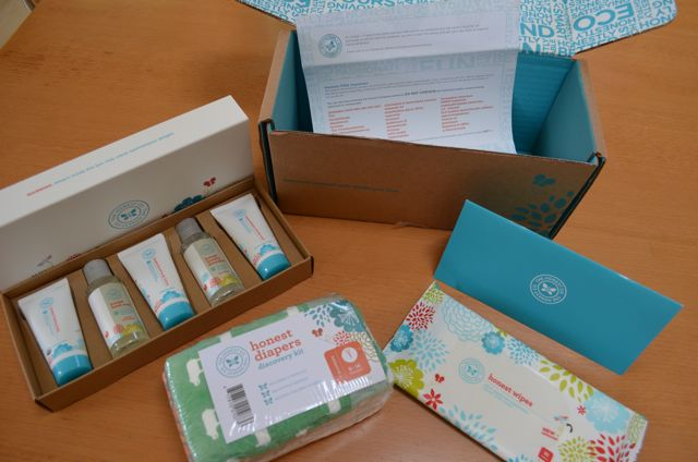 Honest Company Review Sample Box Products
