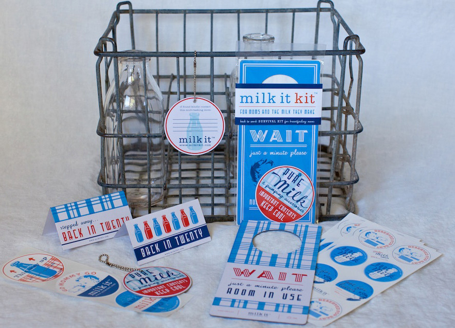Milk It Kit Collection for NICU moms pumping
