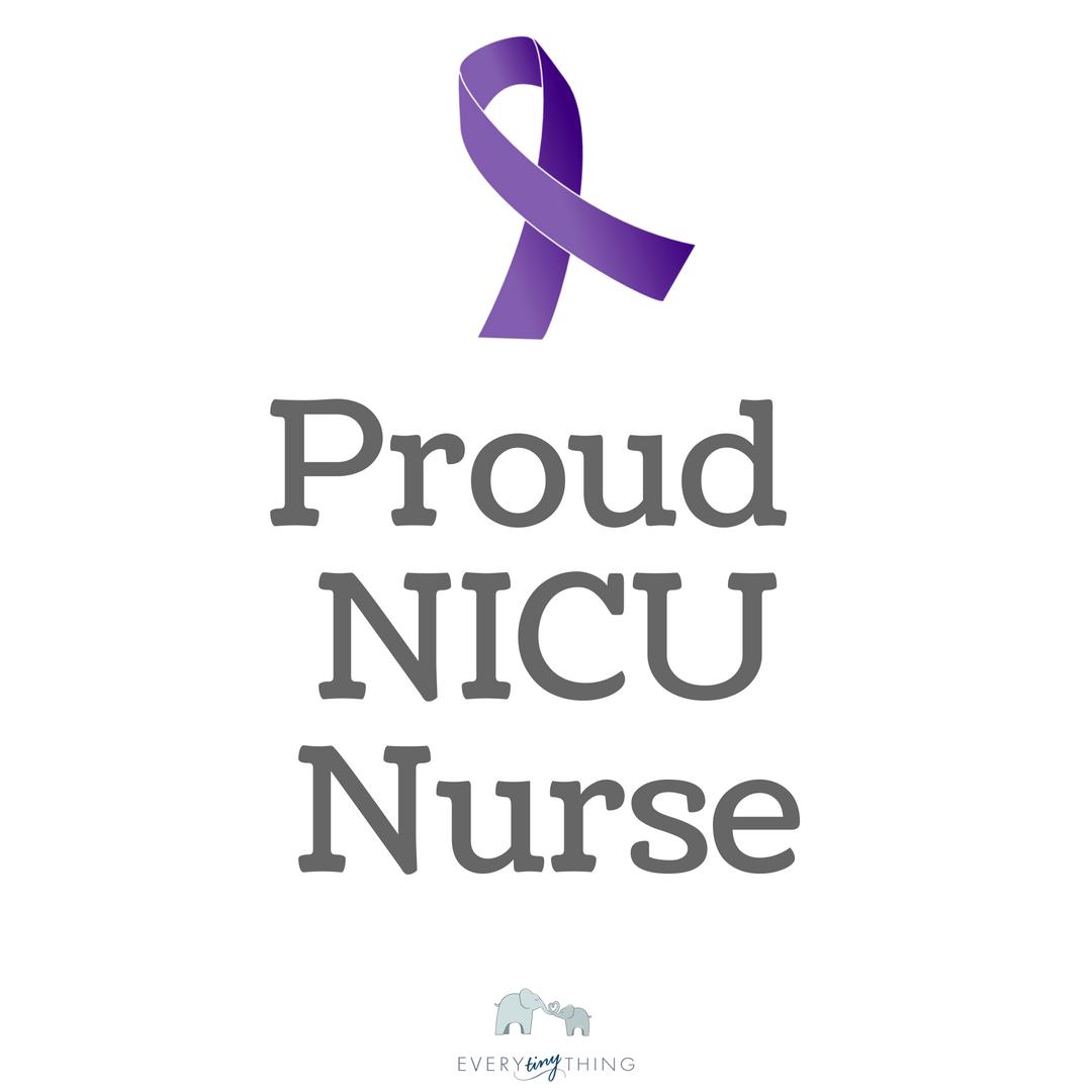 proud nicu nurse image