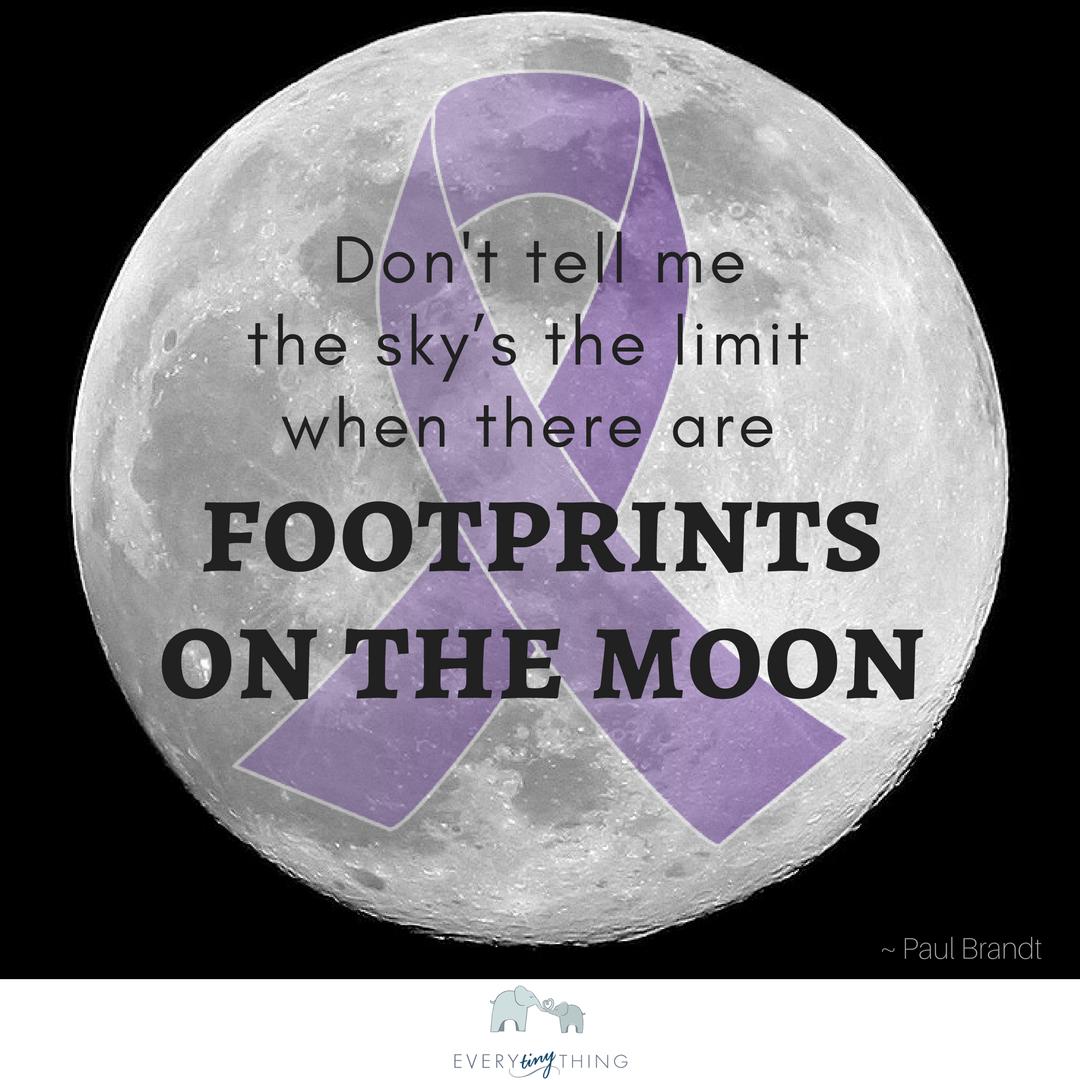 Footprints preemie quote