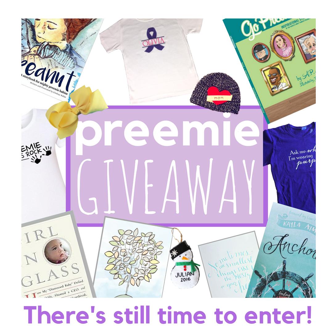 preemie giveaway instagram