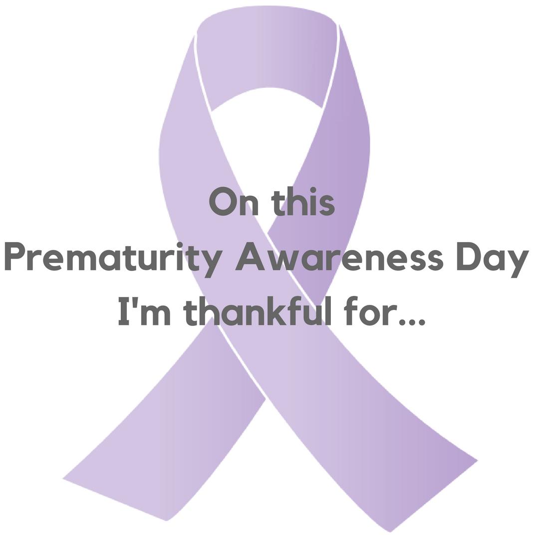 world prematurity day gratitude