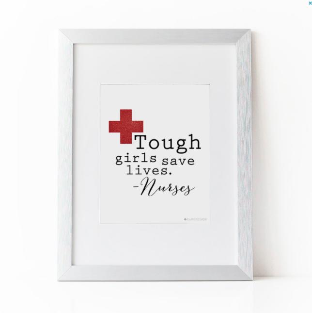 nicu nurse christmas gift art