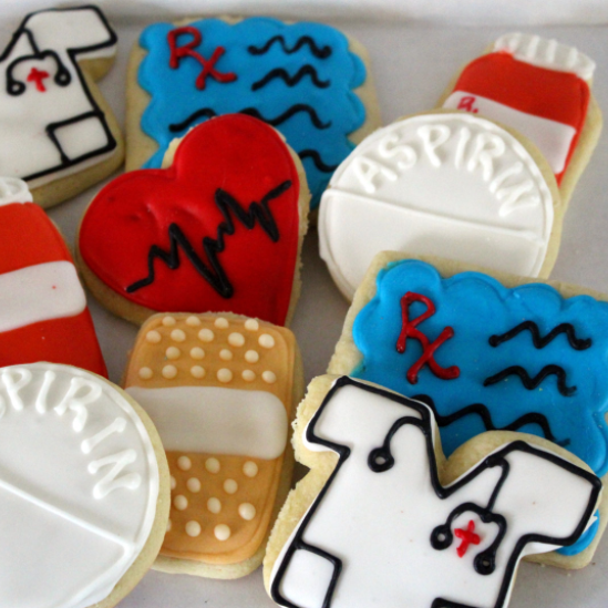 nicu nurse cookies gift