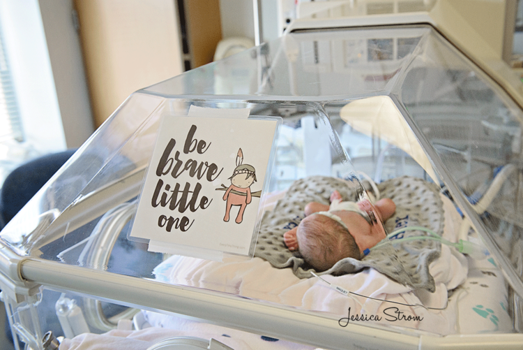 nicu crib art for mothers day in nicu-jessica-strom.jpg
