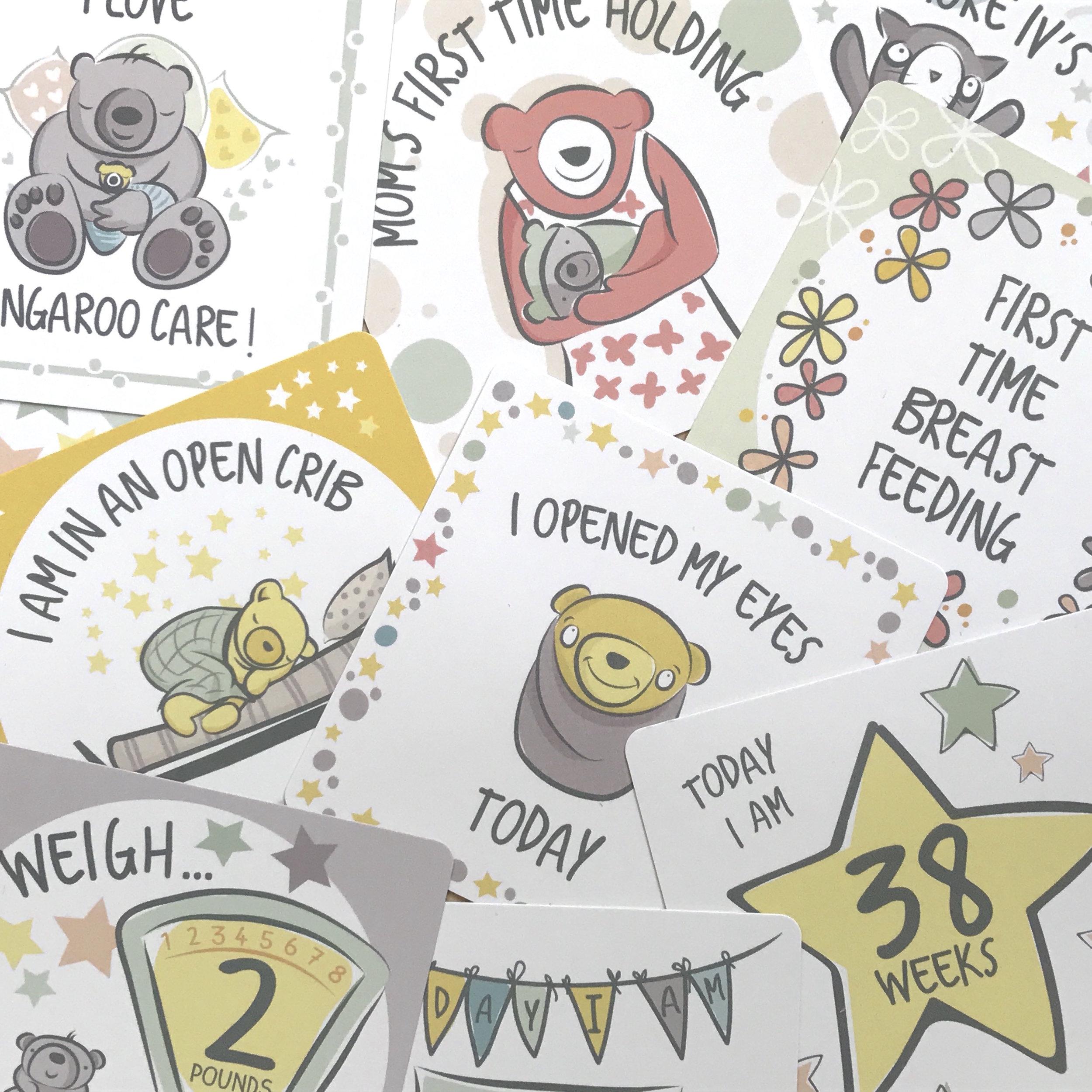 NICU Milestone Cards
