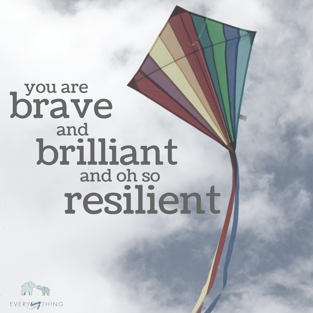 brave brilliant resilient NICU moms and dads
