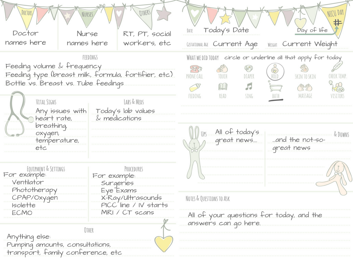 Daily NICU journal page sample 1.png