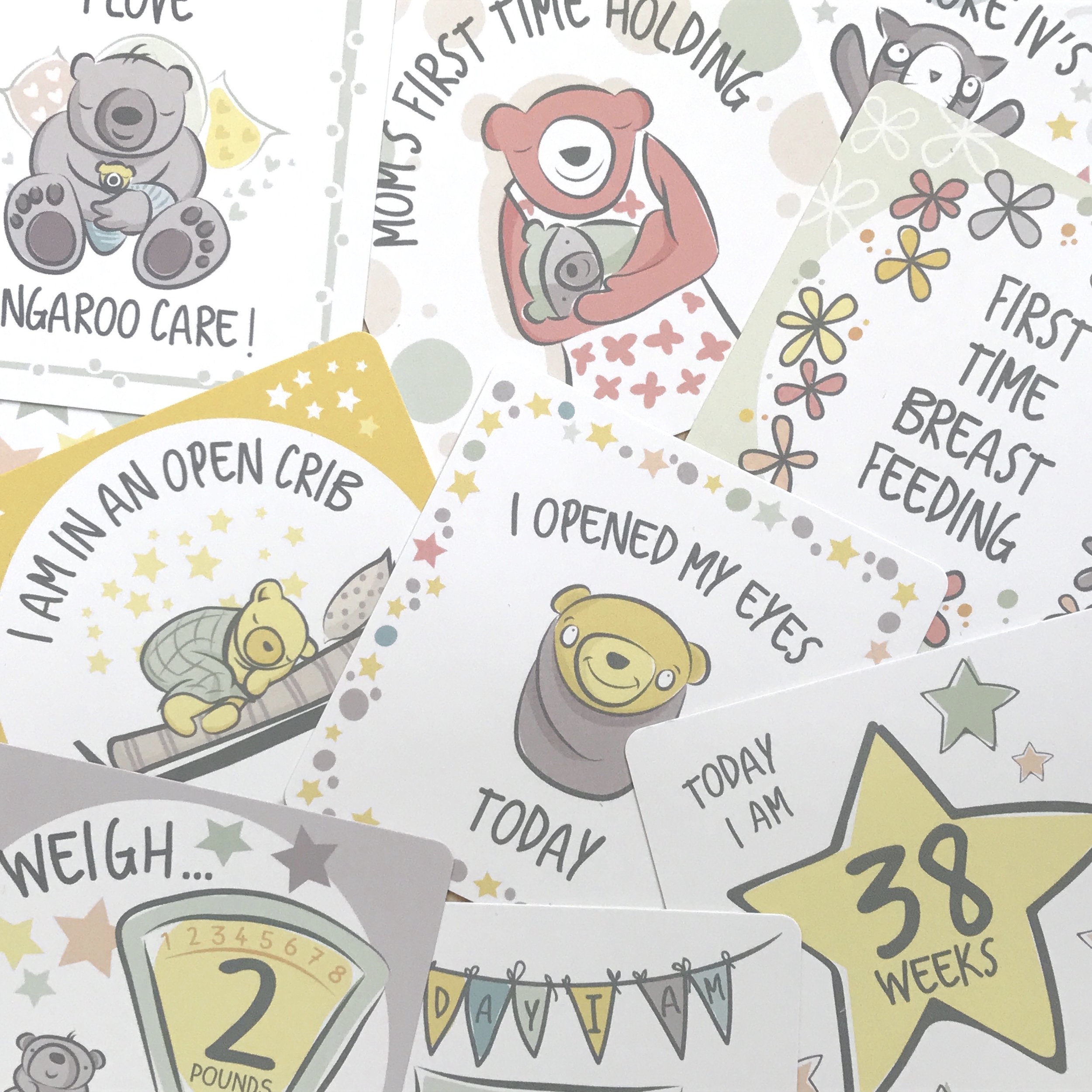 Shop NICU Milestone Cards