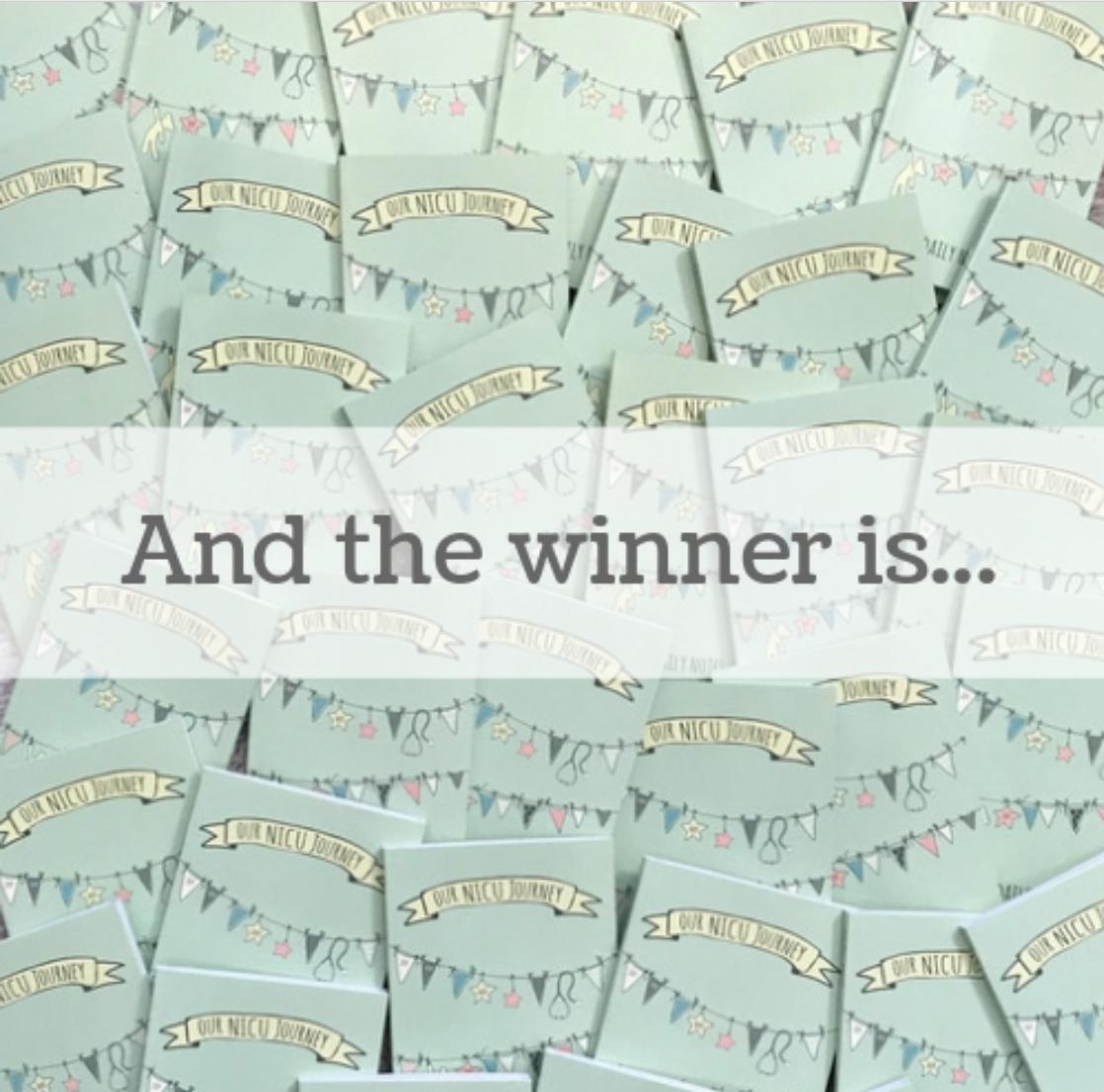 winner of nicu journal contest