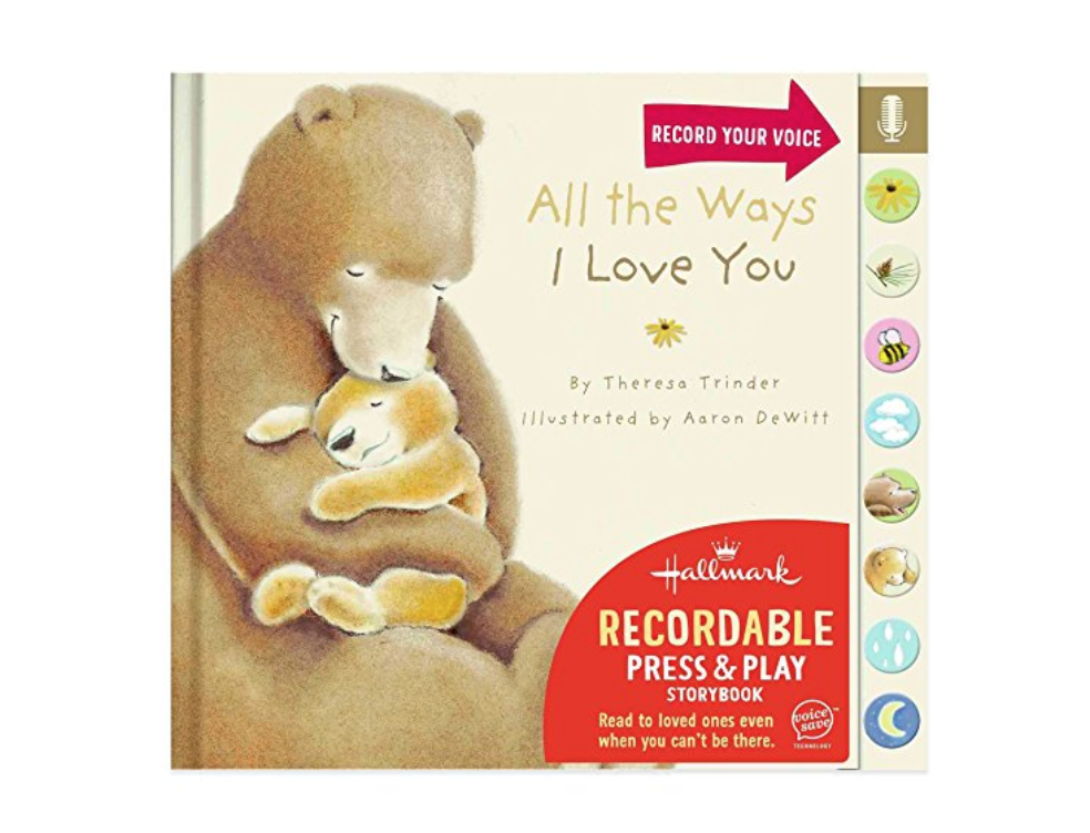recordable book for nicu valentines day gift