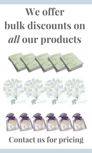 wholesale prices for all nicu products from every tiny thing