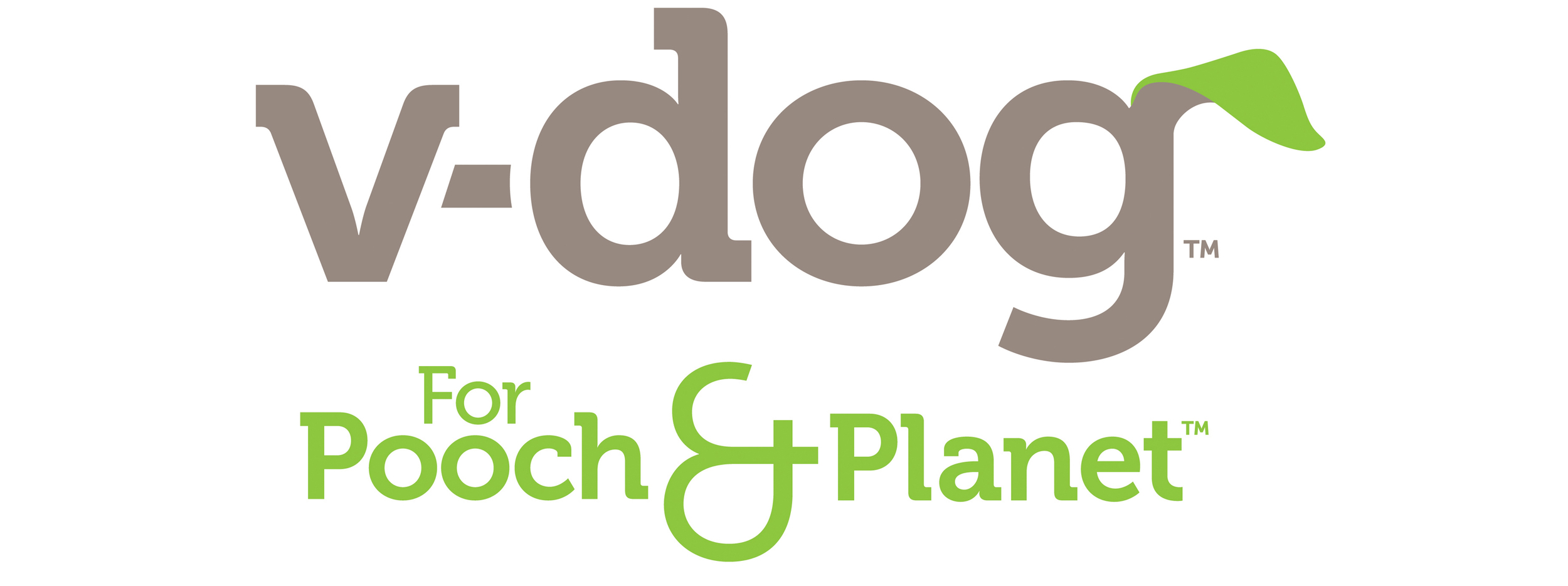 V-Dog logo design and tagline by Good Stuff Partners