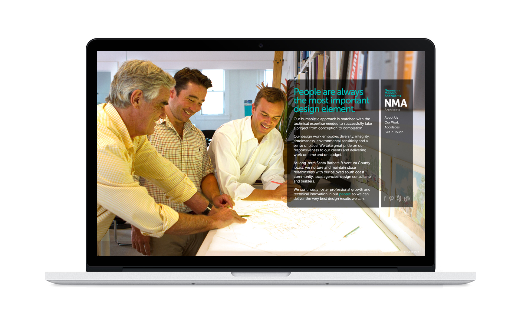 Good Stuff Partners, a brand agency in the Bay Area, revamped architect firm NMA's brand strategy which helped them increase their digital presence.