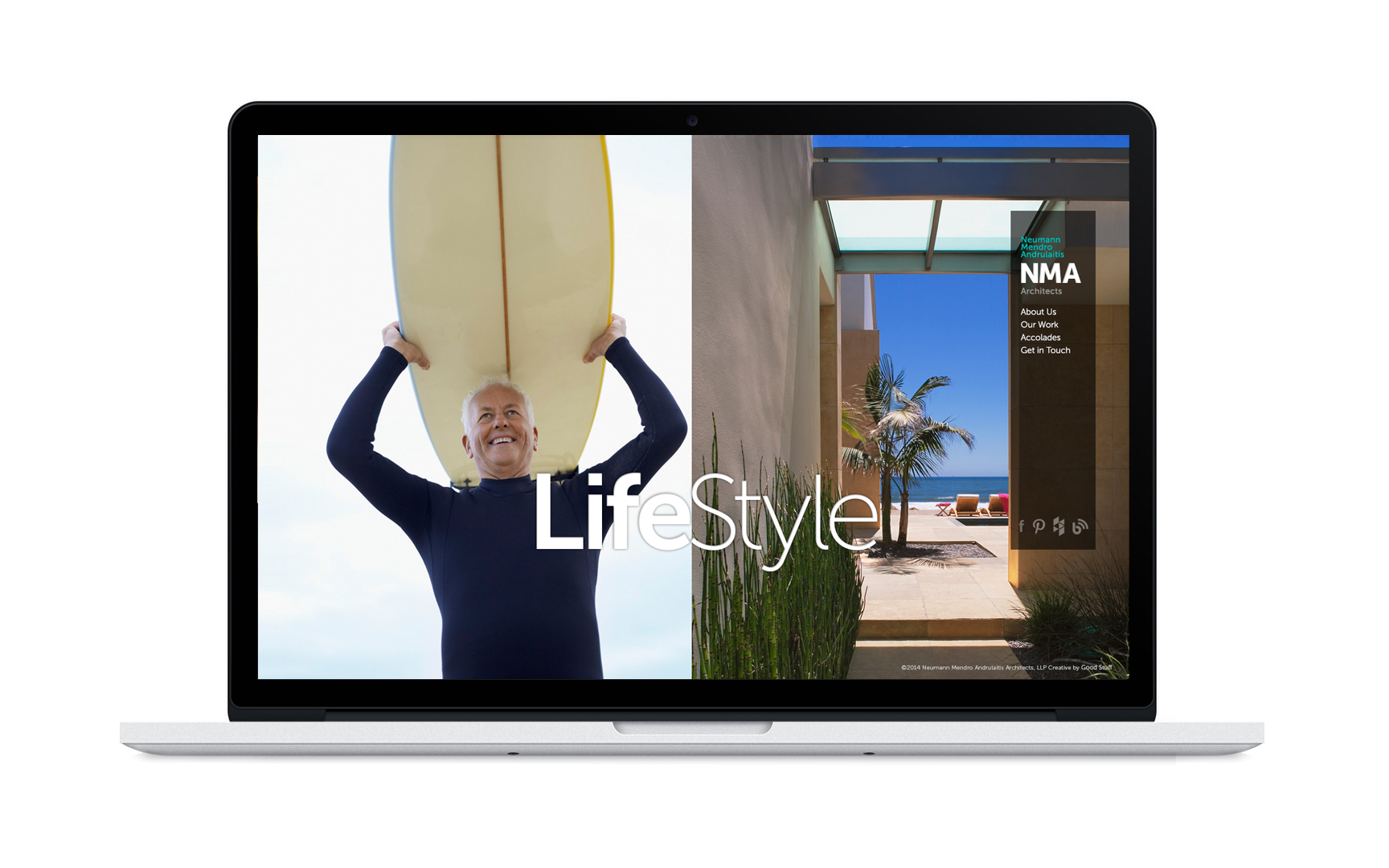 Good Stuff Partners, a branding agency in San Francisco, revamped architect firm NMA's brand strategy which helped them increase their digital presence.