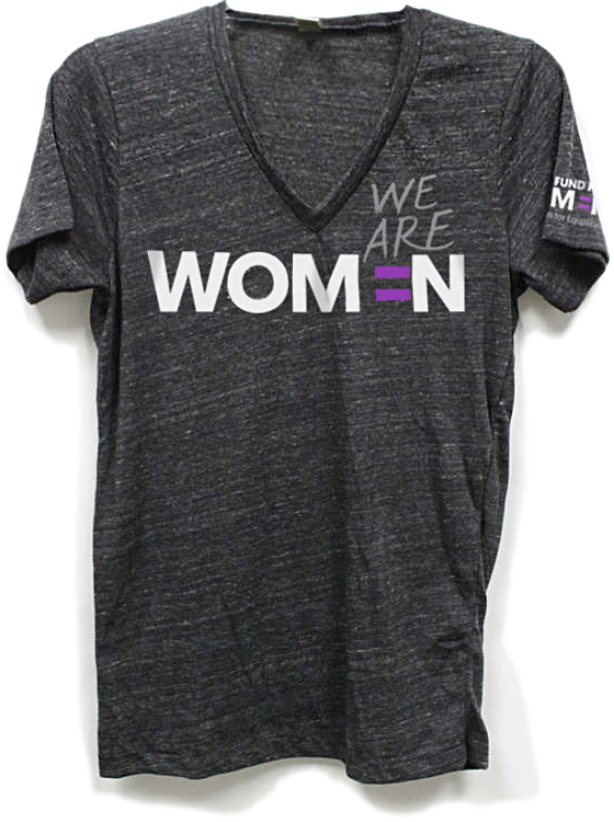Bay Area communications firm Good Stuff Partners designed t shirts and other branding collateral for human rights organization Global Fund For Women.