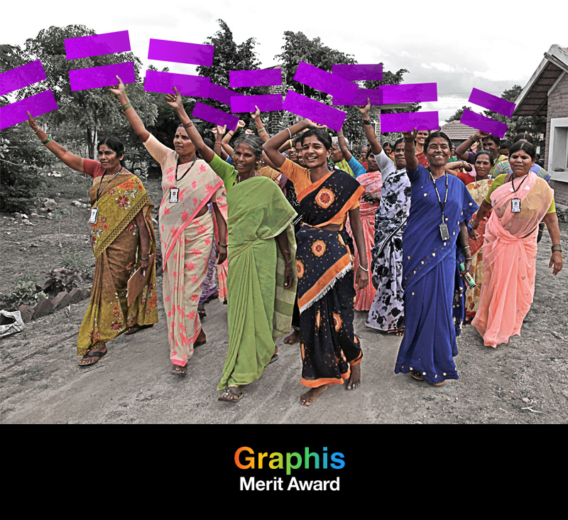 Award of Merit from Graphis for rebrand of Global Fund for Women