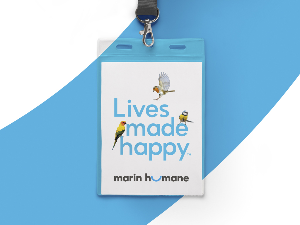 Marin Humane Identity Logo Brand