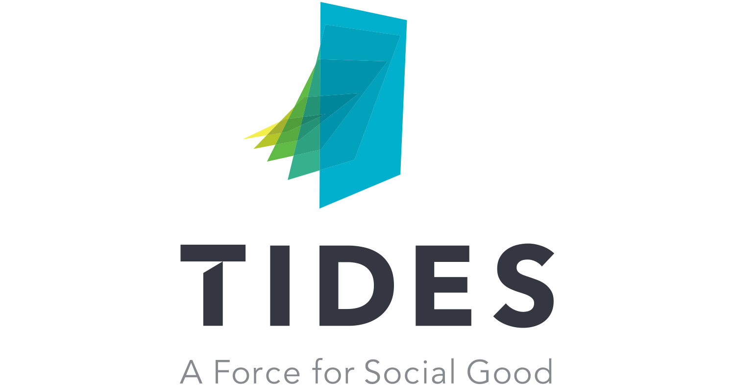Good Stuff Partners, a San Francisco based design agency, created new brand identity for human rights organization Tides.