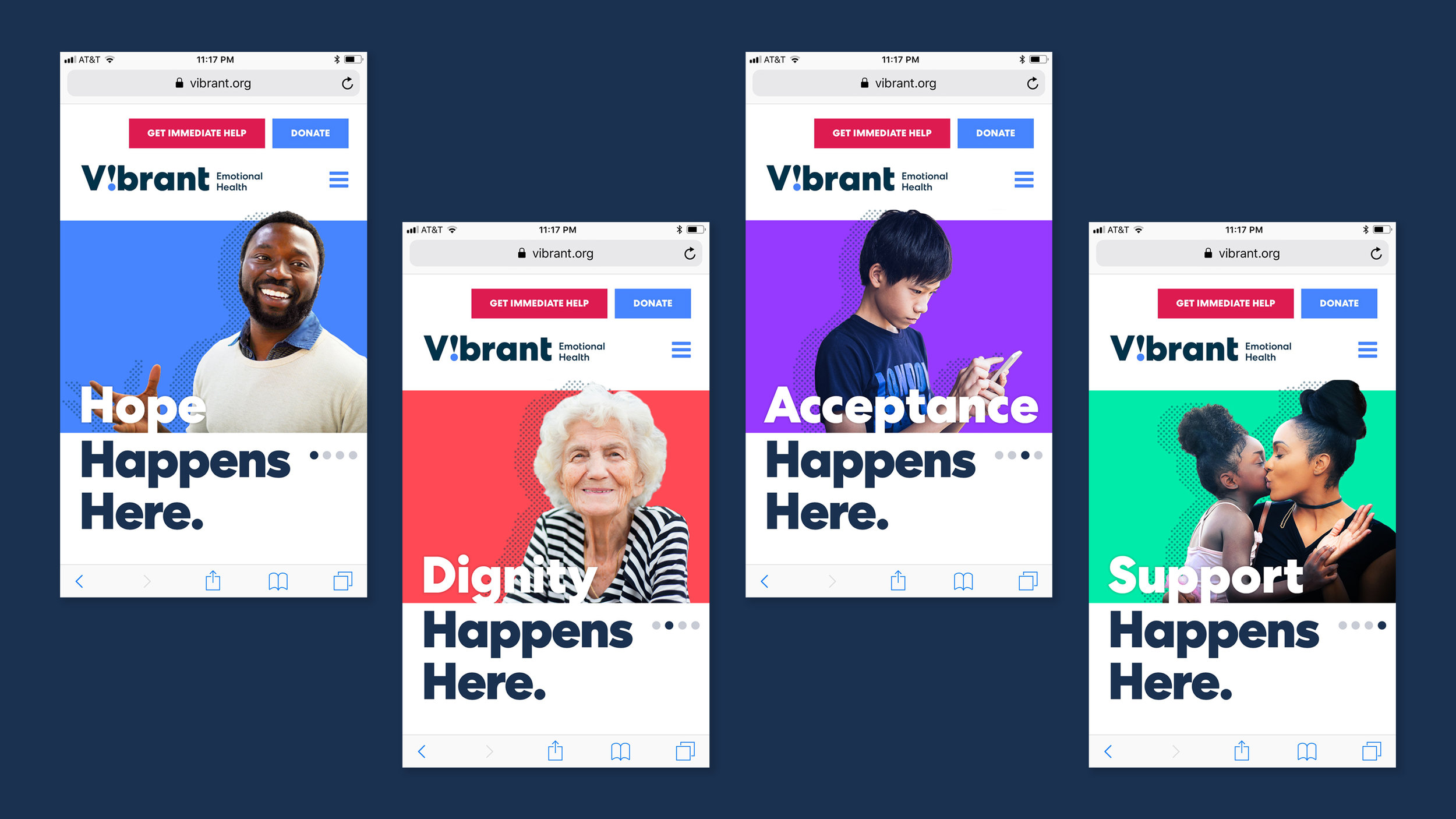 Vibrant Emotional Health digital website