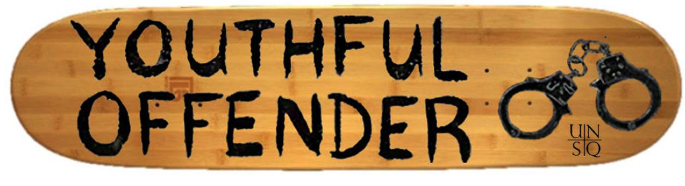 Youthful Offender Skate Deck | $55 USD