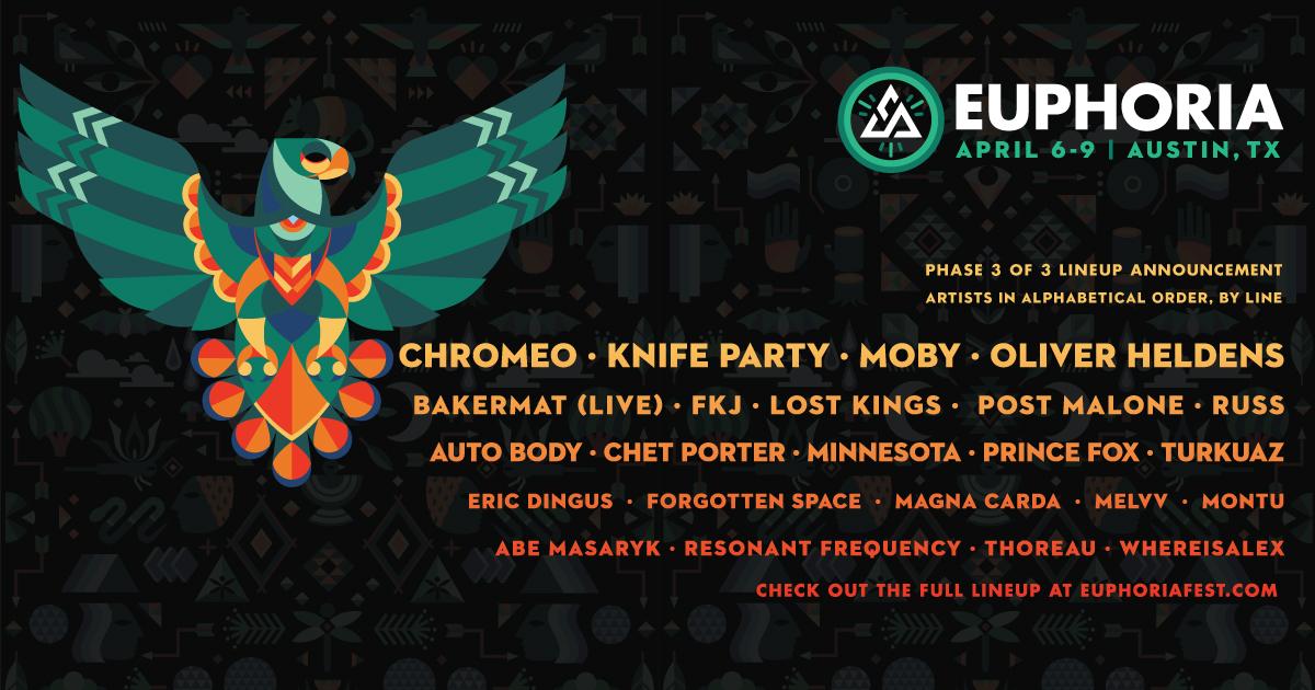 Euphoria 2017 Phase 3 Lineup
