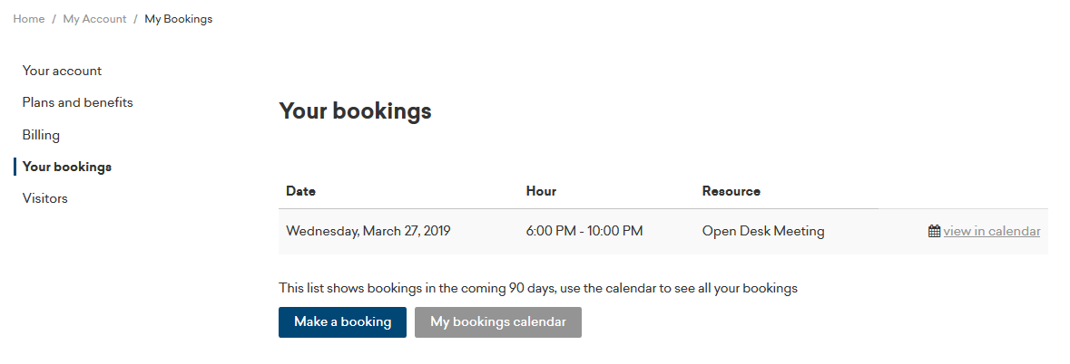 Your bookings.PNG