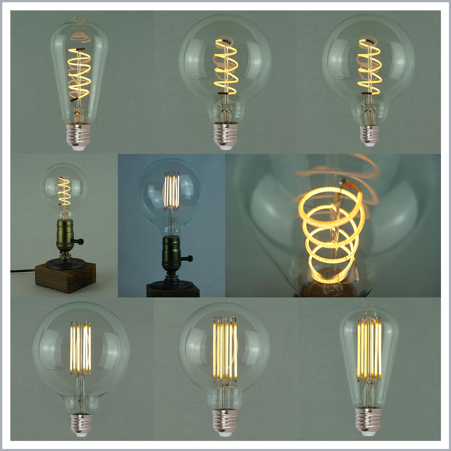Vintage Edison LED Light Bulbs