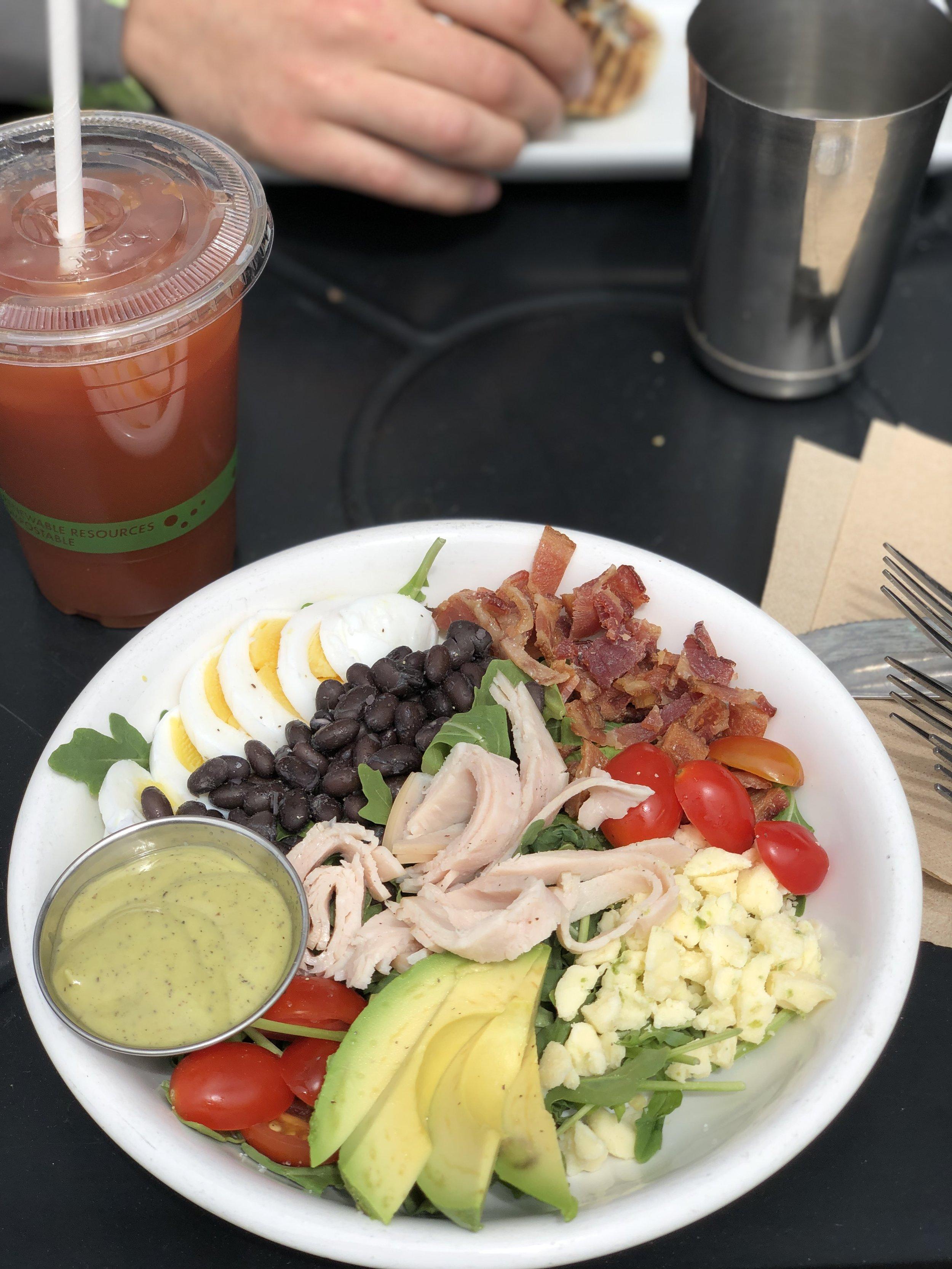 Summer Cobb Salad at CoffeeBar in Truckee.
