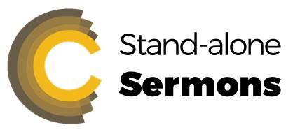 Stand-alone sermons from Cornerstone church