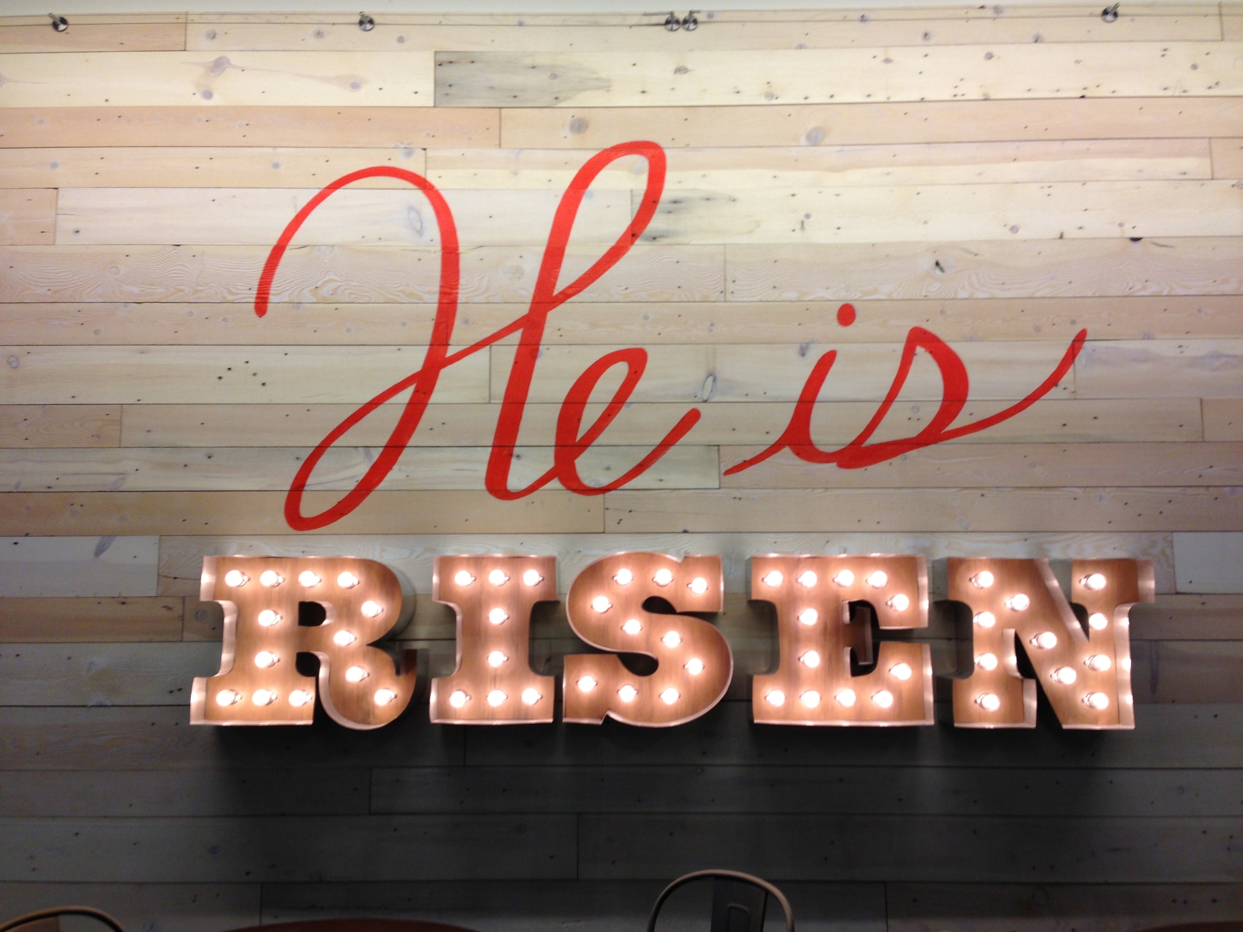 A celebration of the risen King