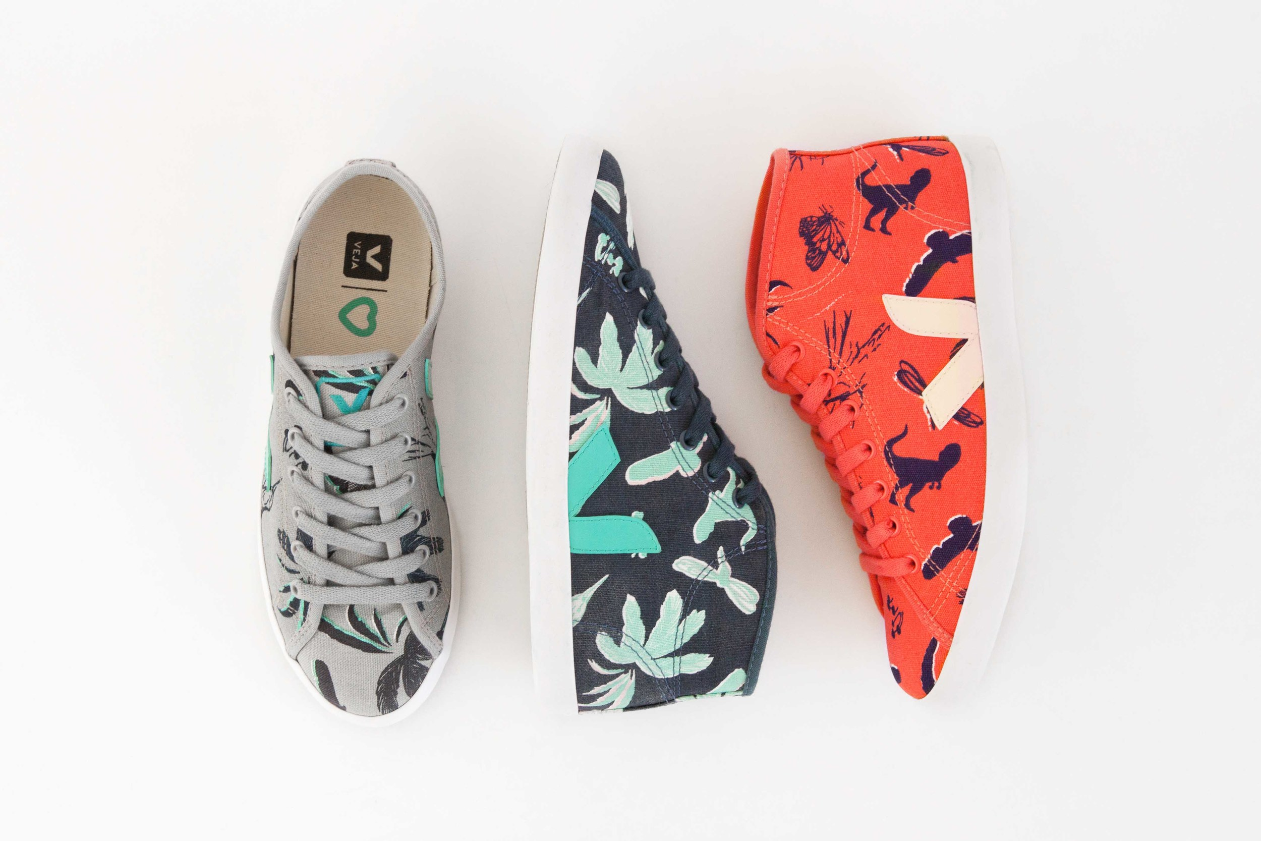 VEJA x LC trainers — Wild Rubber
