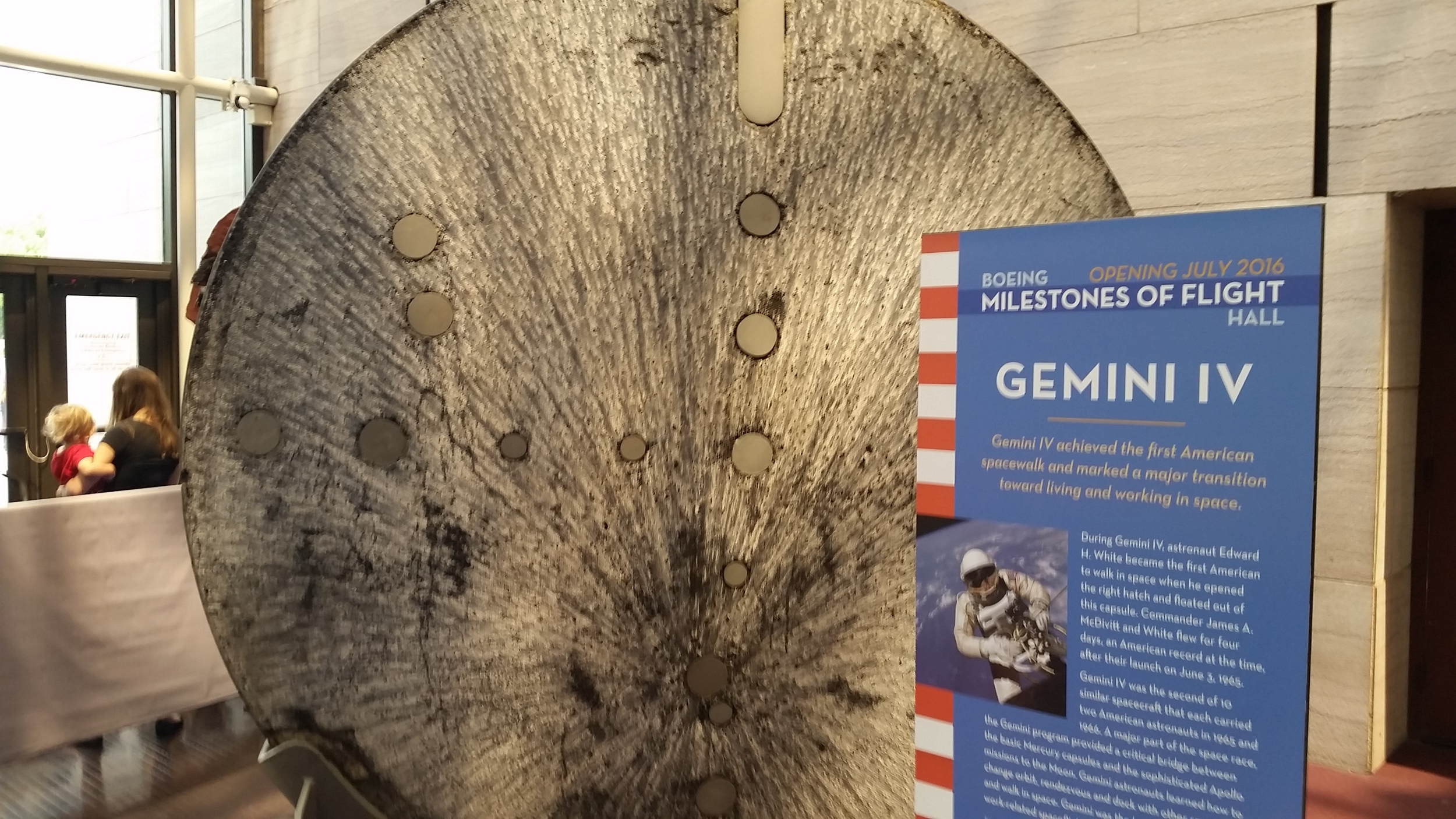 The business end of a Gemini capsule.