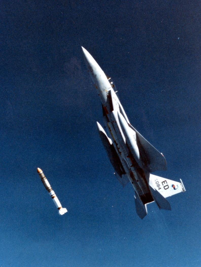 F-15 Deploys an ASAT