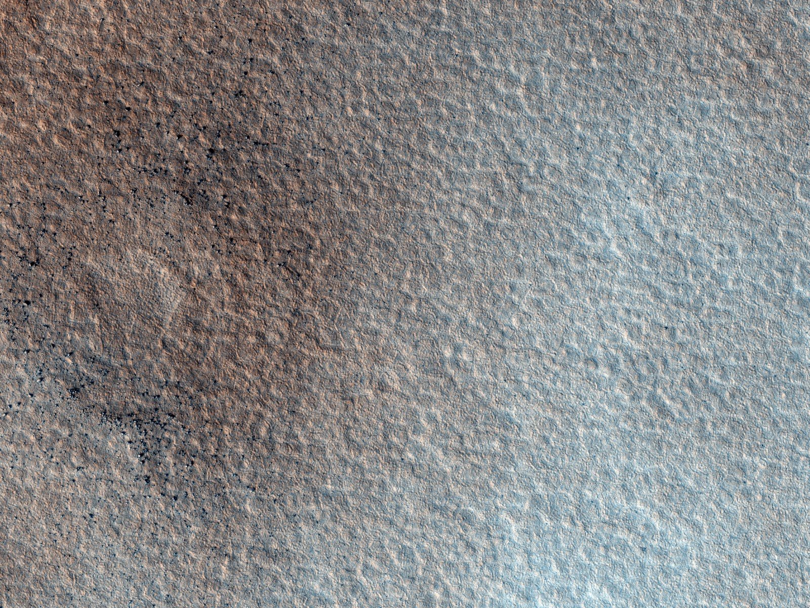 The gentle plains of Arcadia planitia
