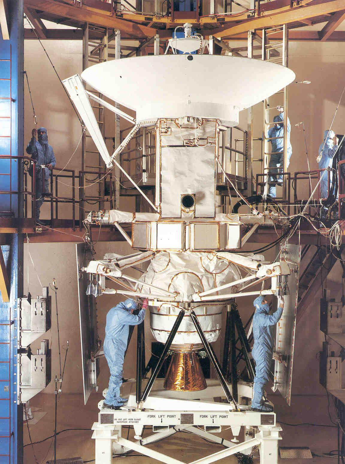Magellan in processing, before IUS integration