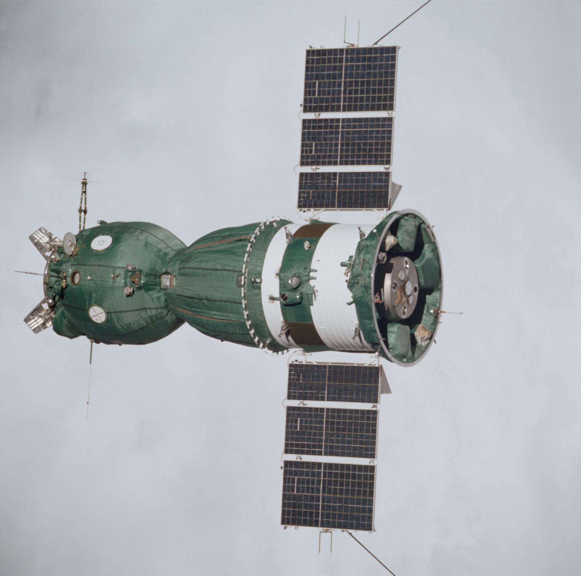 The only unmodified Soyuz 7K-TM to fly in space ( spaceflight.nasa.gov )