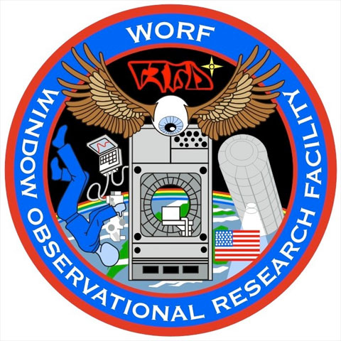 The WORF mission patch
