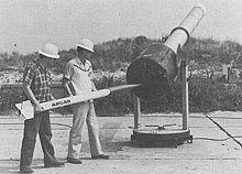 Arcas, the rocket Sonda I was based off