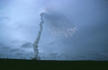 The inaugural Ariane 5 launch did not go as planned.