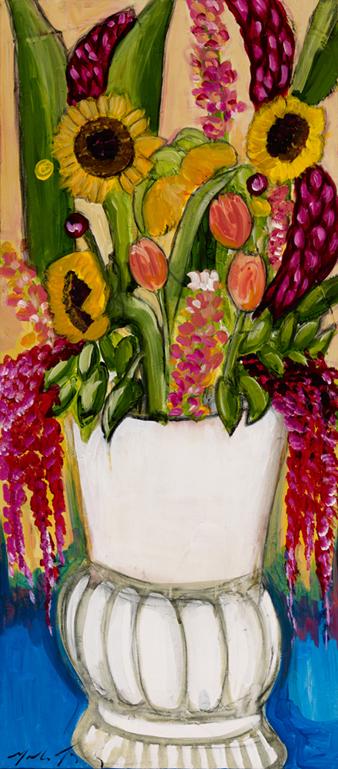 3 Still life Sunflowers  adn Tulips.jpg