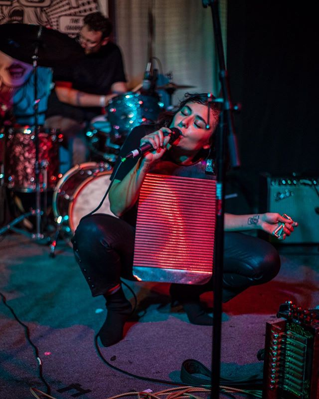 Had to bust out the frottoir for Grrrl Fest 3 🔥 Much love to everyone who was there! 📸: @chloelittlefieldphoto
