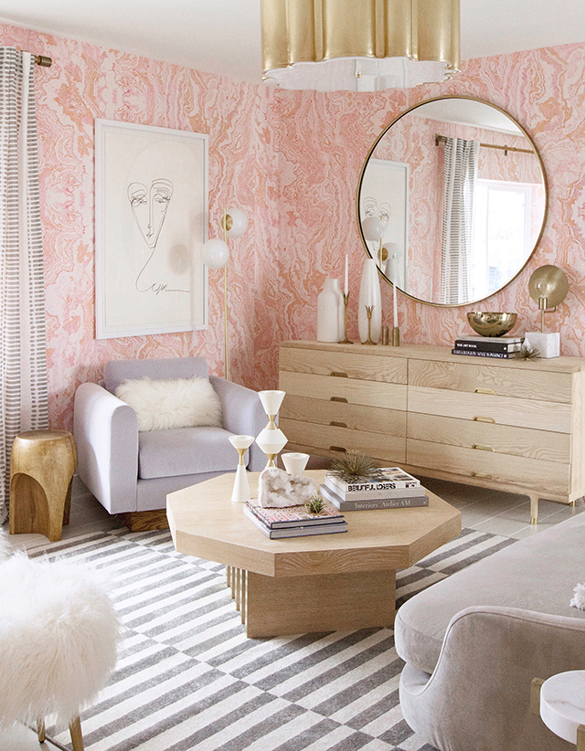 Sarah Sherman Samuel for The Christopher Kennedy Compound Showhouse