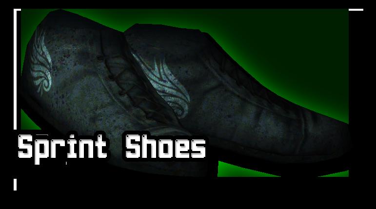 Vander Nightbrook's Sprint Shoes