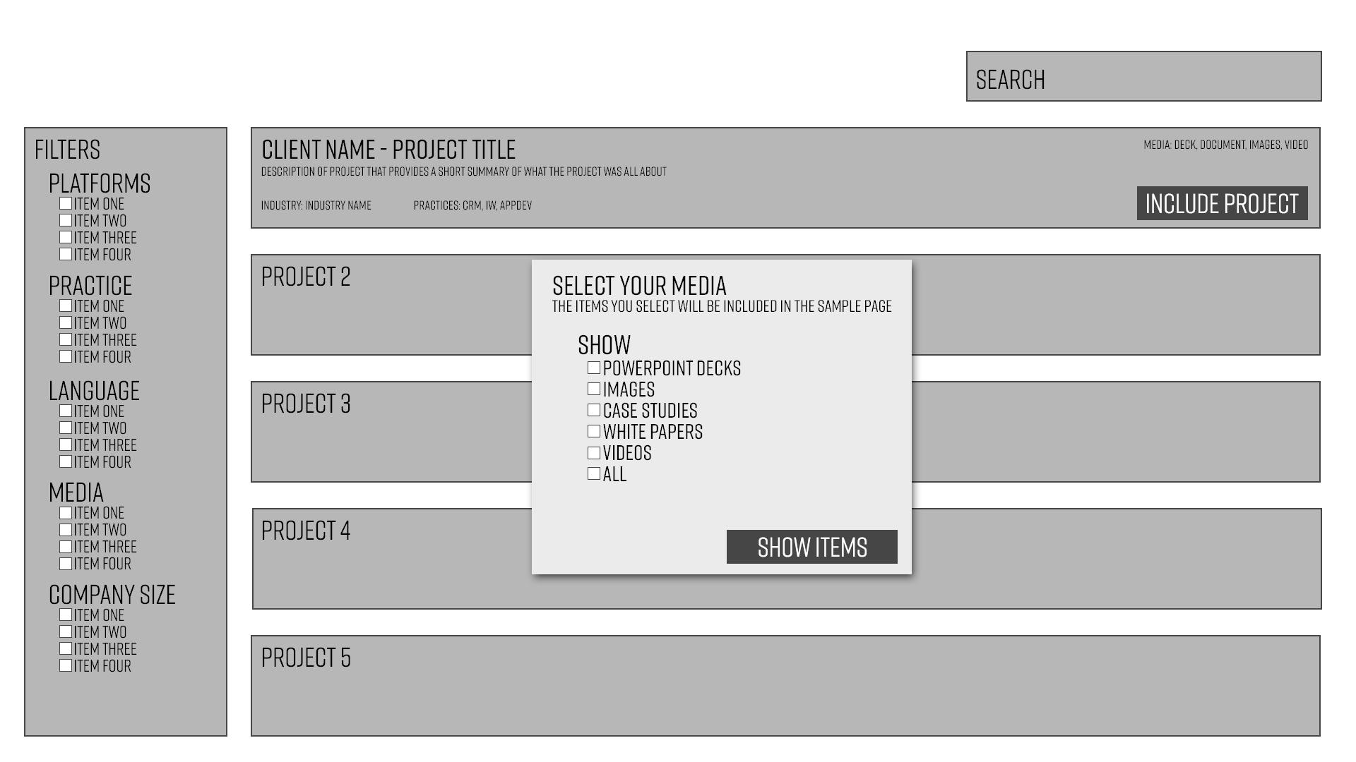 Wireframes: Demos & Prototypes