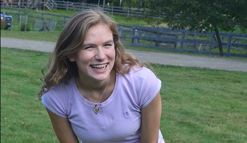 Molly Vorhaus, College Student